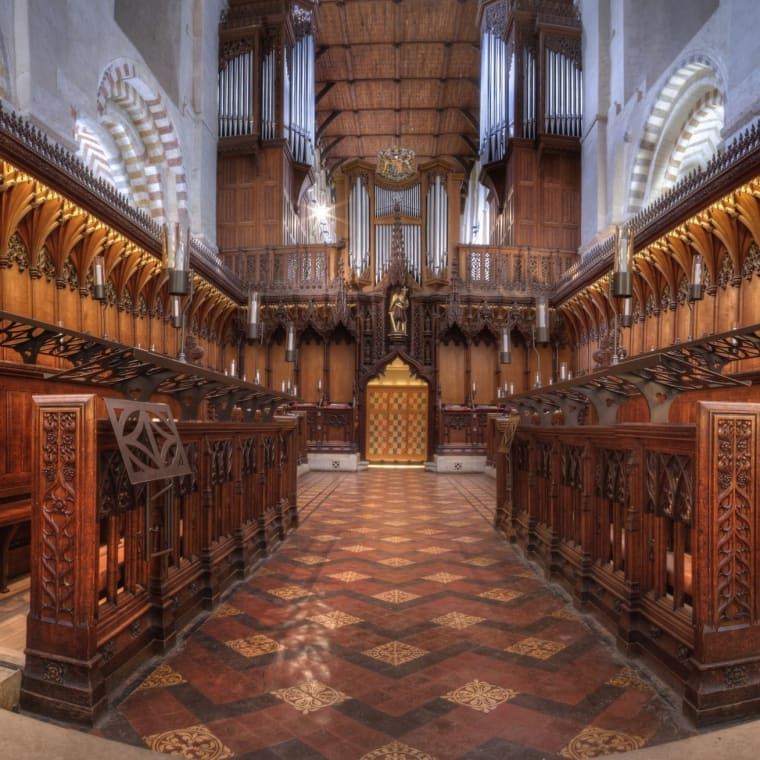 St Albans Cathedral Quire