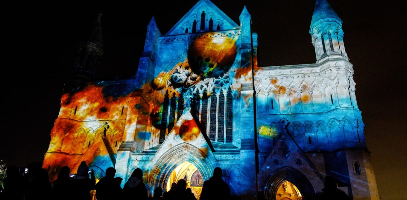 The Week St Albans Cathedral Travelled Through Space