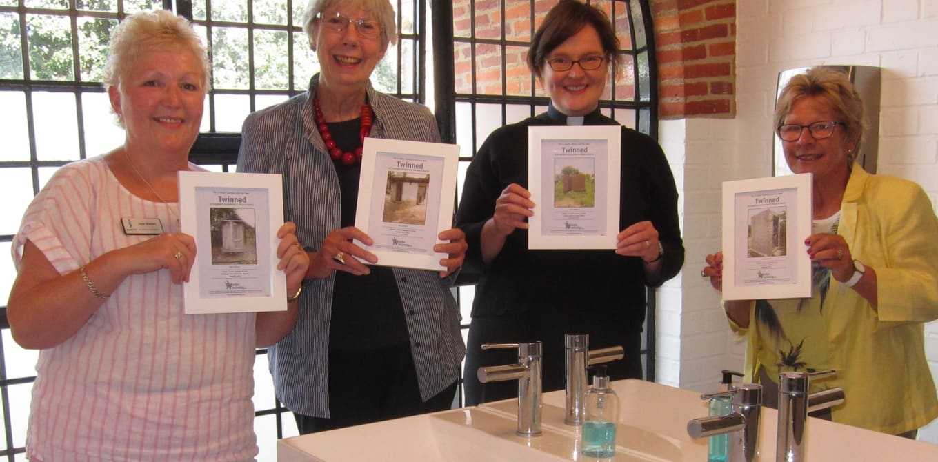 Twinning 4 new toilets at St Albans Cathedral