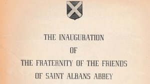 The Inauguration of the Friends of St Albans Abbey, 1949