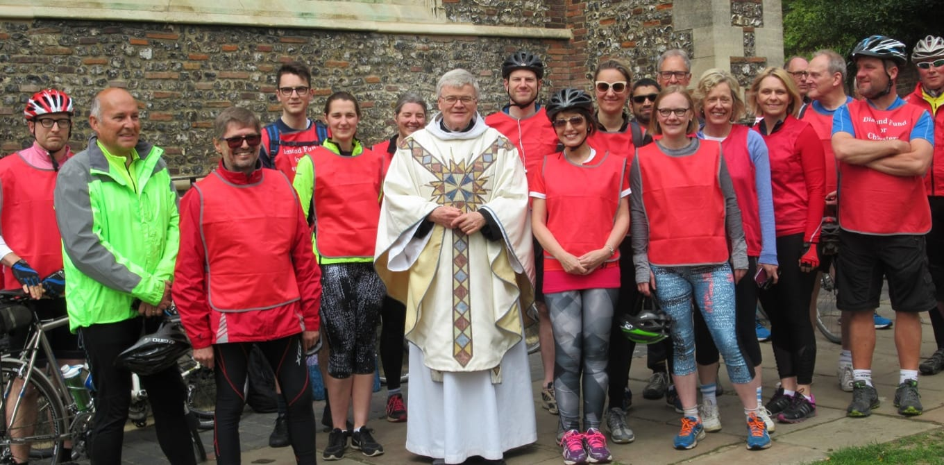 Charity Cycle Ride Raises Money for Cathedral Choristers